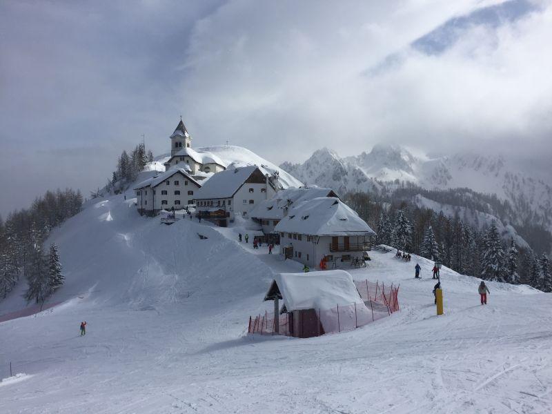 Monte Lussari skien bij Tarvisio