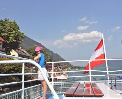 tocht over de Ossiachersee - huur uw vakantievilla bij Berghaus Christel