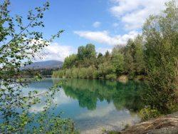 Silbersee in het voorjaar - huur uw vakantievilla bij Berghaus Christel