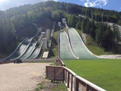 skischansspringen Kranjska Gora
