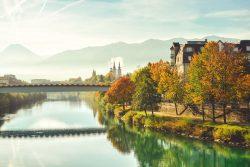 Villach in de herfst - huur uw vakantievilla bij Berghaus Christel