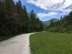 hiking Slovenie